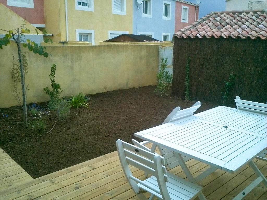 Agrandissement d'un abri de jardin terminé